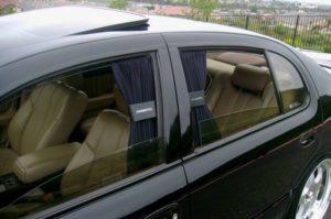 Запрещены ли каркасные шторки на передние стекла автомобиля
