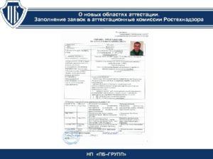 Расписание экзаменов ростехнадзор
