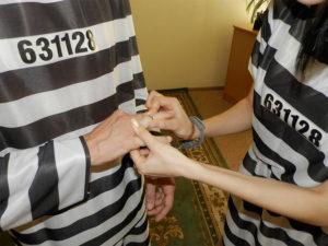 Роспись в тюрьме как проходит