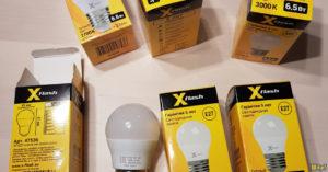 Замена светодиодной лампы по гарантии
