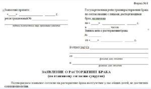 Как написать заявление на развод в г енакиево днр