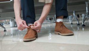 Можно ли вернуть обувь в магазин если красится стелька