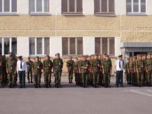 Свердловская область воинские части