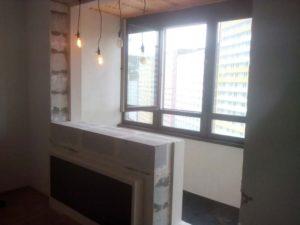 Можно ли объединить балкон с комнатой в монолитно каркасном доме