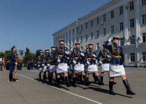 Высшие военные учебные заведения для девушек