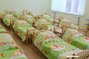 Как меняют белье в детском саду