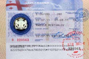 Где и как можно сделать визу из грузии в россию