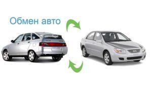 Где обменять автомобиль на другой