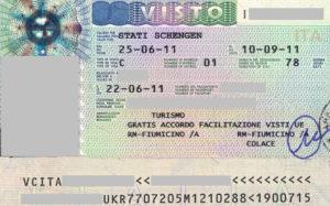 Виза в италию если не работаешь