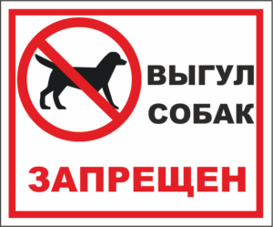 Где запрещено выгул собак в сочи