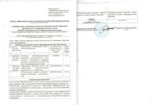 Какие подготовить документы к лицензированию доу