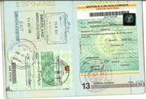 Виза для россиян в мозамбик