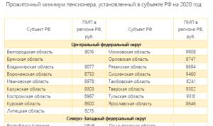 Прожиточный минимум в москве на несовершеннолетнего ребенка в 2020 году