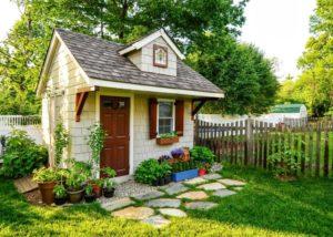 Оформить дом как хозблок