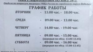 Паспортный стол по адресу прописки найти в московской области
