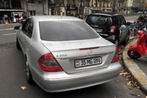 Машины с армянскими номерами в россии
