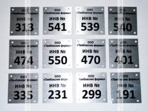 Как правильно ставить инвентарный номер на основных средствах пример видео