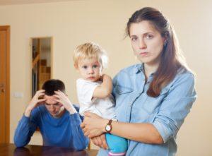 Как жить после развода женщине с ребенком