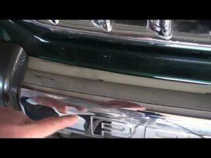 Полировка хромированных деталей автомобиля своими руками