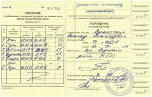 Лицензия на охоту на уток