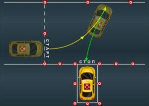 Как выехать из гаража задним ходом на механике