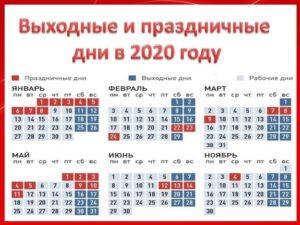 Расчет отпускных перенос праздников в мае 2020