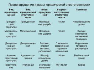 Примеры правонарушений из жизни