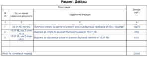 Книга учета доходов на патенте скачать