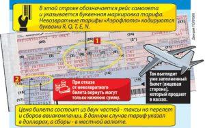 Можно ли вернуть деньги за невозвратный билет на самолет аэрофлот