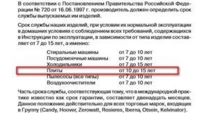 Нормативный срок службы газового оборудования