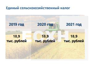 Есхн в 2020 году ндфл