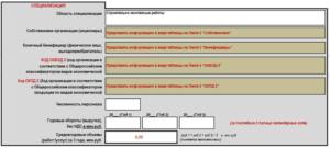 Образец заполнения сведения об участнике закупки