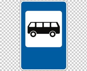 Обозначение остановки общественного транспорта