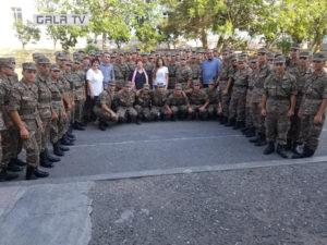 Новости воинской части в абхазии
